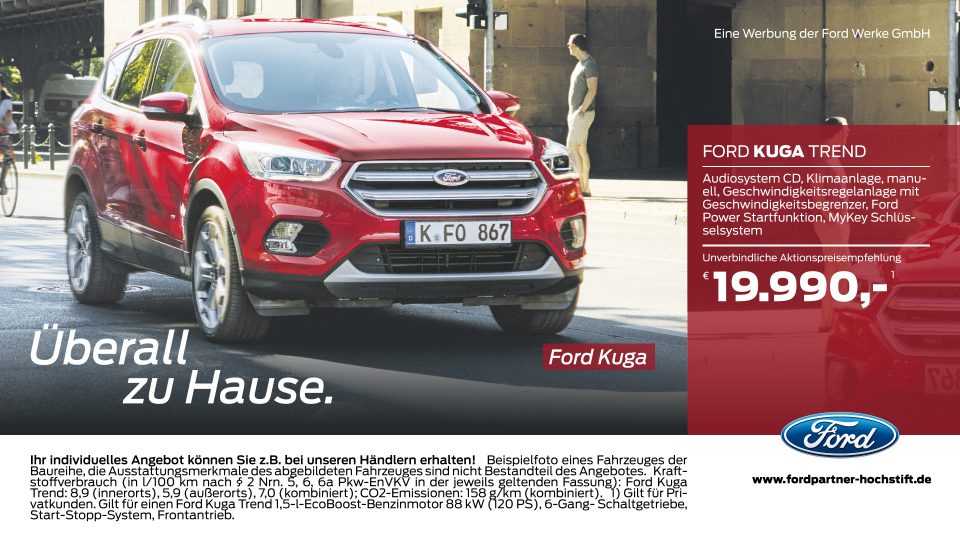 Ford-Partner Hochstift – Ford Kuga