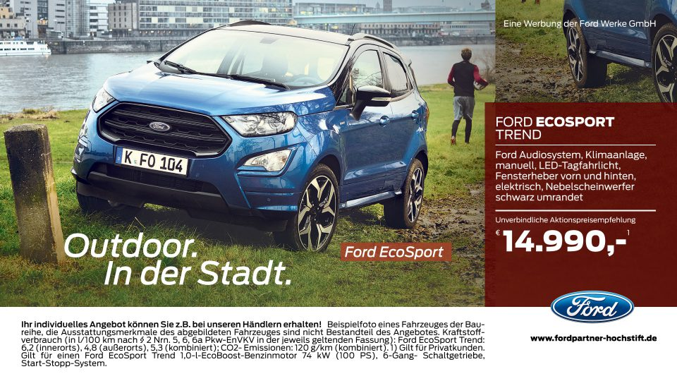 Ford-Partner Hochstift – Ford EcoSport