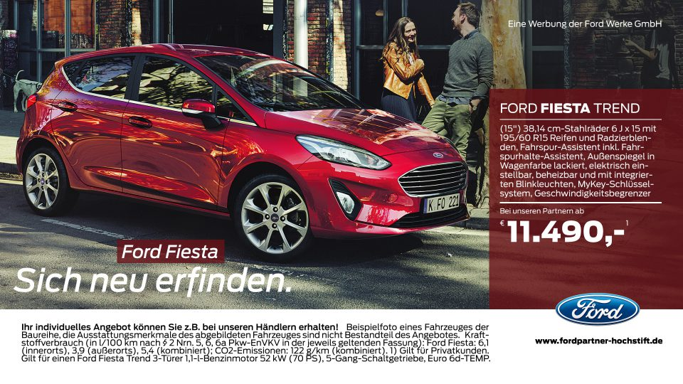 Ford-Partner Hochstift – Ford Fiesta