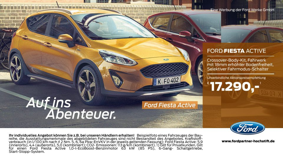 Ford-Partner Hochstift – Ford Fiesta Active