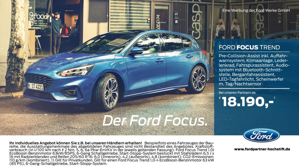 Ford-Partner Hochstift – Der Ford Focus