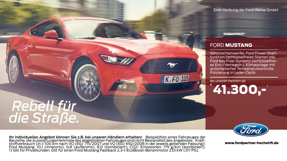 Ford-Partner Hochstift – Ford Mustang