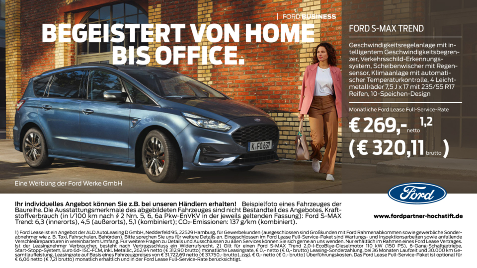 Ford Business – Der Ford S-Max
