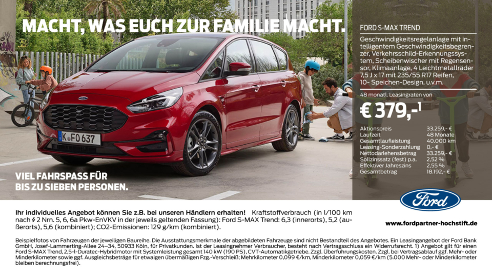 Ford Familie S Max