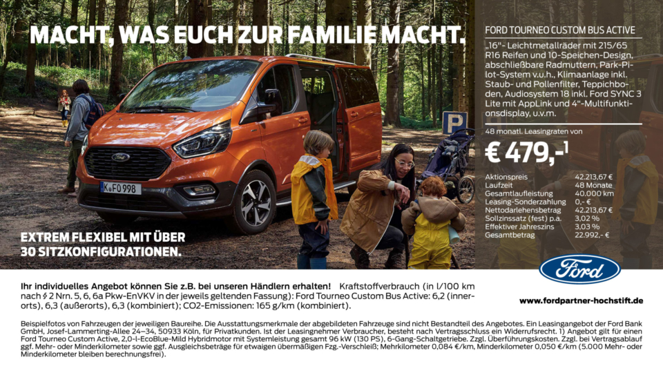 Ford Familie Tourneo